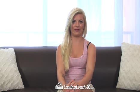 Скриншот Хорошенько прокатили беловолосую девушку на члене №4279 2
