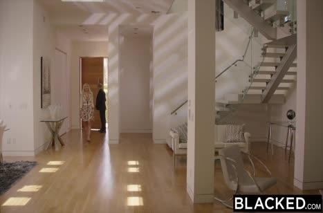 Скриншот Хорошенько прокатили беловолосую девушку на члене №4282 1