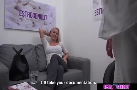 Телку соблазнили на порно кастинг и она согласилась №2300