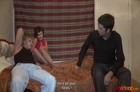 Обаятельный бойфренд разводит русскую телку перепихнуться №2734