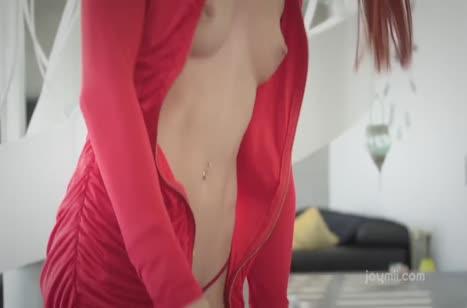 Развратный секс с аппетитными рыженькими девочками №2189