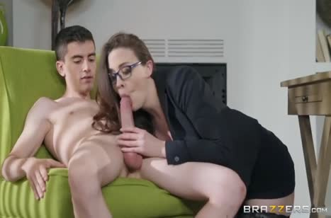 Опытная зрелая дамочка показывает знания позиций №3623